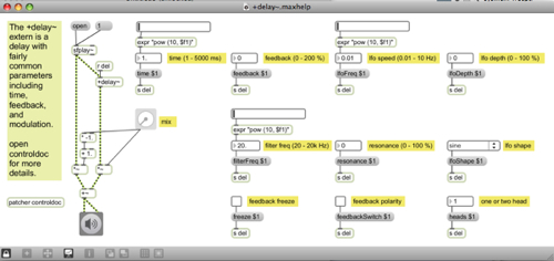 soundhack plugins ported to pure data maxmsp